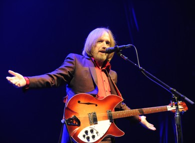 Tom Petty pictured in 2017.