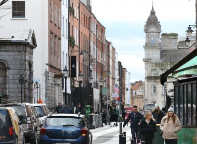 South William Street in Dublin City Centre