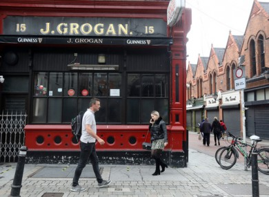 Dublin pub Grogan's has said it will not be reopening next week.