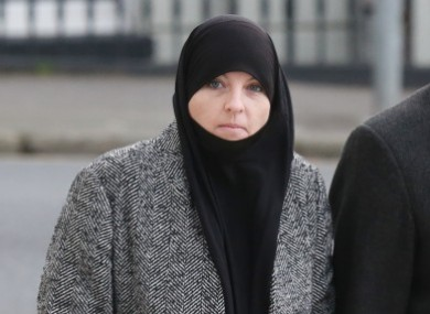 Lisa Smith pictured arriving to court in January.