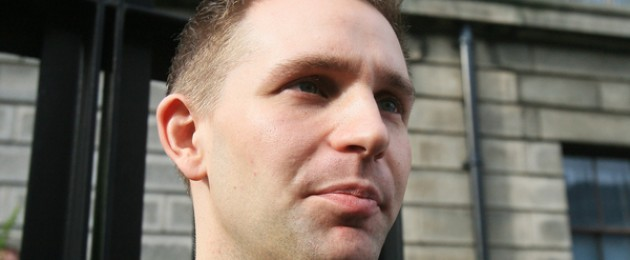 Max Schrems outside Dublin's Four Courts (file photo)