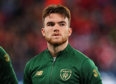 Connolly made his Ireland debut as a sub versus Georgia last October, before starting against Switzerland three days later.