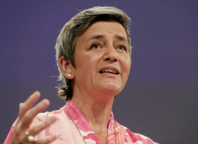 Executive vice-president of the European Commission Margrethe Vestager.