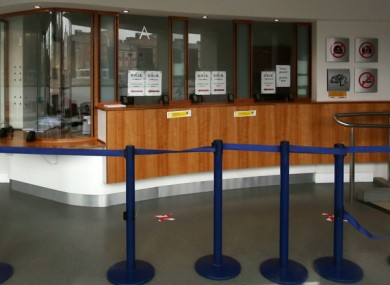 The Registration Office on Burgh Quay.