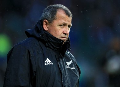 New Zealand Rugby opted for former All Blacks assistant Foster when Steve Hansen stepped down.