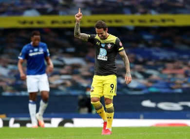 The in-form Danny Ings bagged the opener at Goodison Park.