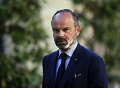 Former French Prime Minister Edouard Philippe