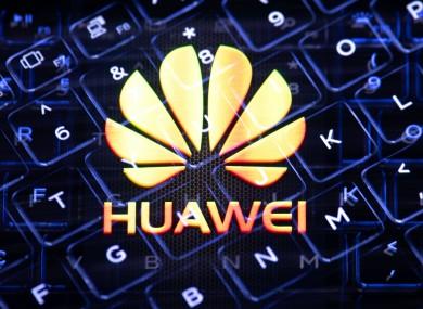 File image featuring Huawei logo.