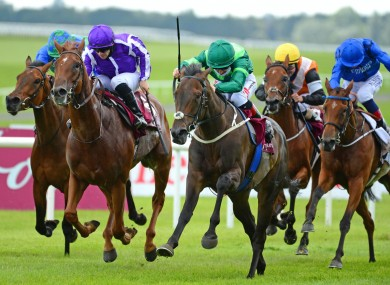Lemista (green silks) was another big winner for Ger Lyons at The Curragh.
