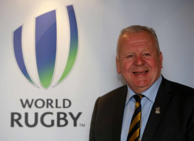 Pacific Rugby Players Welfare has called for a review into the re-election of Bill Beaumont, pictured, as World Rugby chairman.