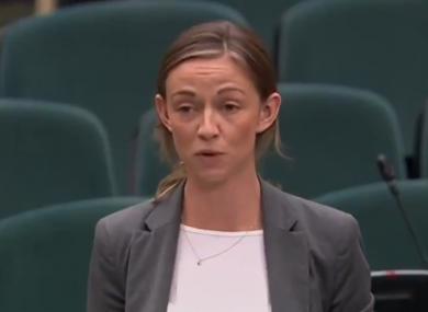 Social Democrats TD Holly Cairns.