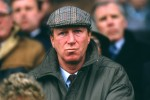 Jack Charlton pictured in 1986 at his first game in charge of Ireland.