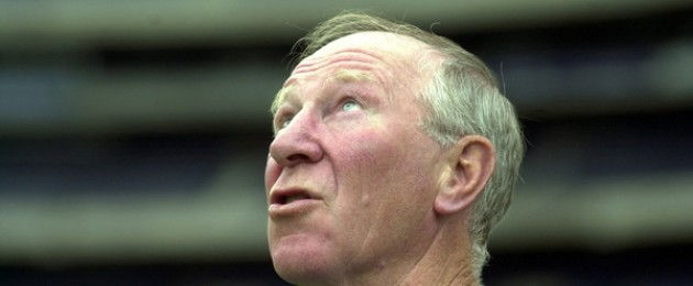 Former Irish soccer manager Jack Charlton in 2003.