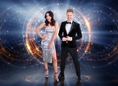 Hosts Jennifer Zamparelli and Nicky Byrne