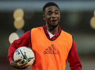 Junior Ogedi-Uzokwe during his time at Derry City.