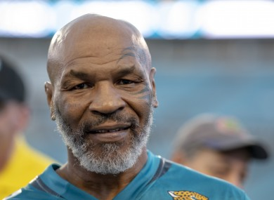 Mike Tyson (file pic).