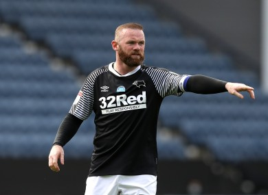 Wayne Rooney struck the only goal of the game at Deepdale.