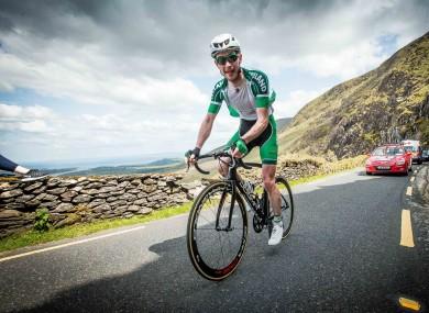 Ronan McLaughlin broke the world Everesting record yesterday.