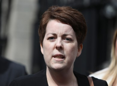 Ruth Morrissey pictured outside the High Court in Dublin in May 2019.