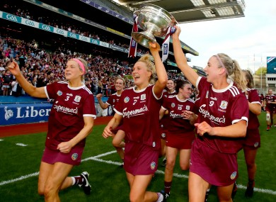 Save the date: Galway will be hoping to defend their All-Ireland crown in Croke Park.
