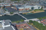 Site of proposed facility at Custom's House Quay.