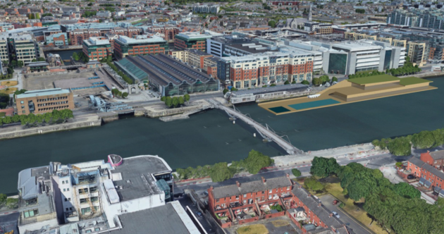 Plans for €15 million floating pool on River Liffey near white-water rafting facility in Dublin city centre