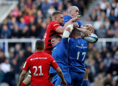 Leinster and champions Saracens will clash at the Aviva Stadium on 19 September.