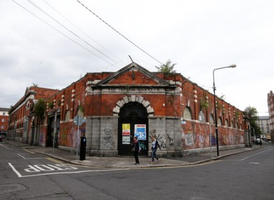 File image of the Iveagh Markets in 2017.