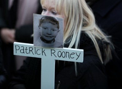 Patrick Rooney was nine when he was killed in Divis flats in 1969.