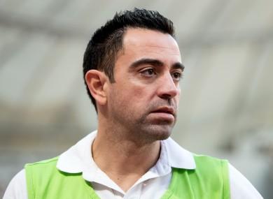 Xavi Hernandez (file pic).