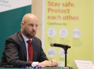 Professor Philip Nolan, Chair NPHET's Irish Epidemiological Modelling Advisory Group