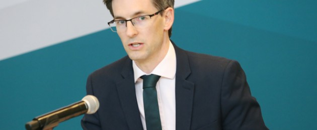 Acting Chief Medical Officer Dr Ronan Glynn at the Department of Health.