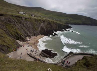 Com Dhíneol beach near Ceann Sléibhe, Kerry.