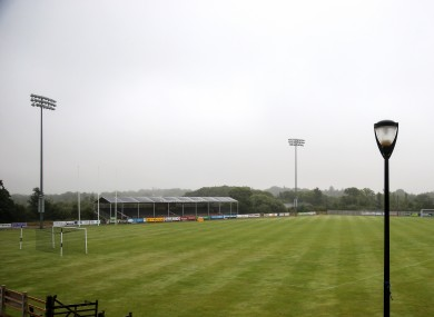 A general view of Wexford's Ferrycarraig Park, which was due to host toight's showdown.