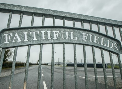 A view of the Offaly GAA Centre of Excellence Faithful Fields after it was closed in March.