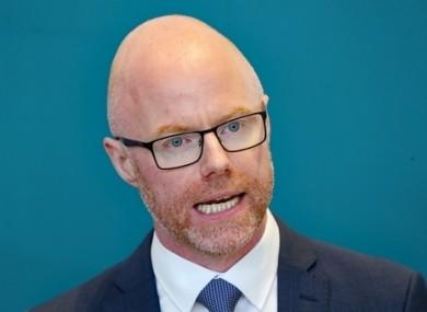 Fianna Fáil's Minister for Health Stephen Donnelly.