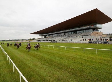 A general view of the Curragh.