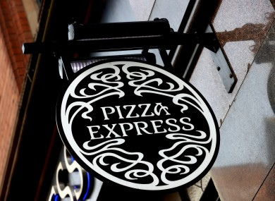 Pizza Express restaurant in the UK.