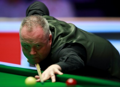 John Higgins' 147 was the 11th time a maximum break has been made at the World Championship (file photo).