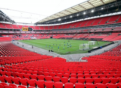 Wembley will host the men's and women's Community Shield games on 29 August.