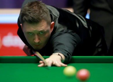 Kyren Wilson is into the World Snooker Championship final.