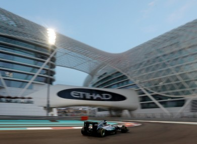 The season will conclude 12 days before Christmas in Abu Dhabi.