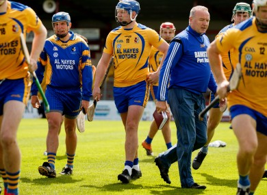 FIle photo of Canning and his Portumna team-mates.