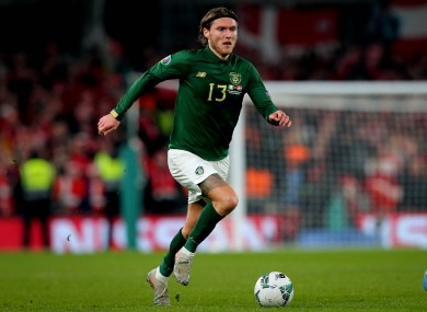 The 28-year-old has been capped 54 times for Ireland.