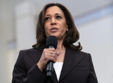 US Senator Kamala Harris will be Joe Biden's running mate.