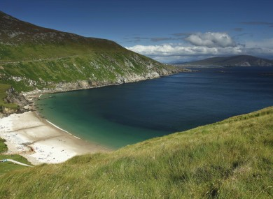 Keem Beach on Achill Island.