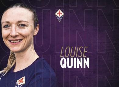 Next chapter: Louise Quinn.