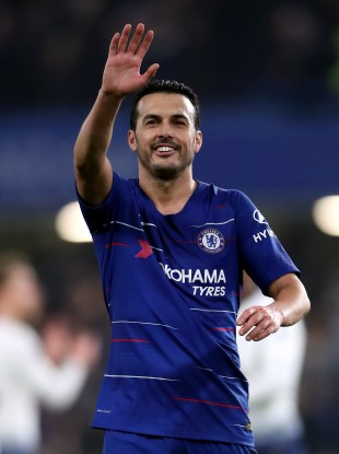 Pedro, pictured, has played his last game for Chelsea after undergoing shoulder surgery.