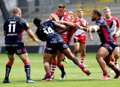 An image from Salford v Hull FC last weekend.