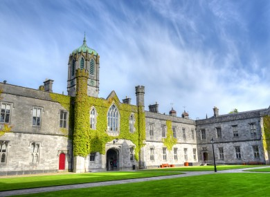 The National University of Ireland in Galway. (File photo)